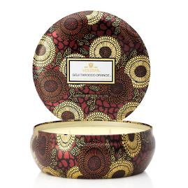Voluspa Goji and Tarocco Three-Wick Tin Candle