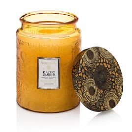 Voluspa Baltic Amber Glass Candle