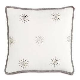 Ezra Brush Fringe Euro Pillow Sham