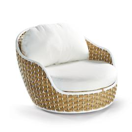 Ravello Swivel Lounge Chair Cover