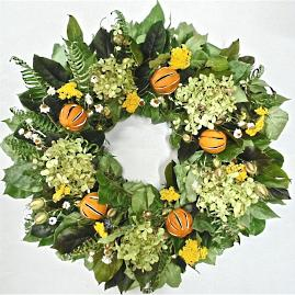 Palm Beach Dried Wreath
