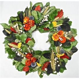 Lancaster Valley Dried Wreath