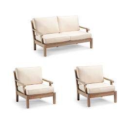 Cassara 3-pc. Loveseat Set Cover