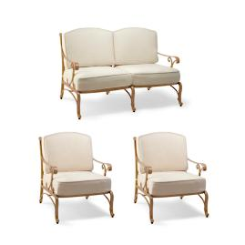 Orleans 3-pc. Loveseat Set Cover