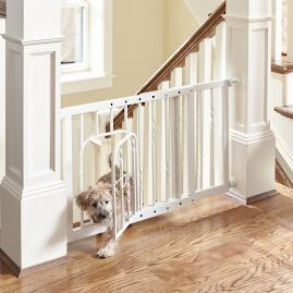 21-inch Expanding Tension Mount Pet Gate