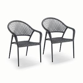 Lorenzo Cafe Chair Covers, Set of Two