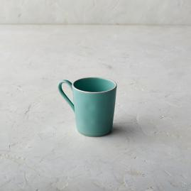 Costa Nova Astoria Mugs in Mint Finish, Set
