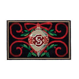 Heirloom Ornament Monogrammed Door Mat