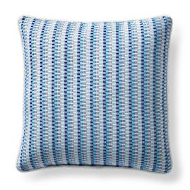 Riska Pacific Piped Outdoor Pillow