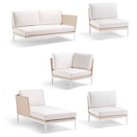 Palazzo Shell 5-pc. Left-facing Chaise Set