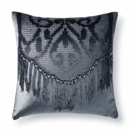 Dutch Lace Velvet Decorative Pillow