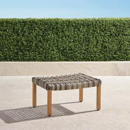 Isola Ottoman in Natural Finish