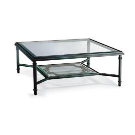 Grayson Coffee Table in Black Finish