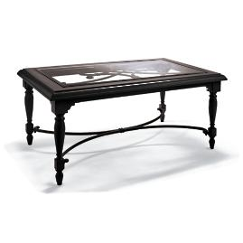 Orleans Coffee Table in Chocolate Finish
