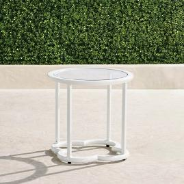 Avery Side Table in White