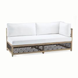 Catawba Right-Facing Sofa with Cushions in Grey Finish
