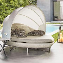 Nuvola Daybed with Cushions