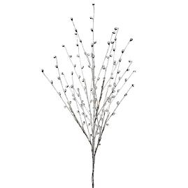 Pear Bush Sprays with Crystals, Set of 12