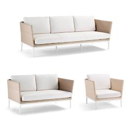 Palazzo Shell 3-pc. Sofa Set
