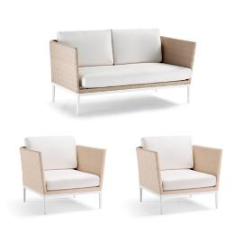Palazzo Shell 3-pc. Loveseat Set