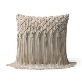 Mackenzie Macrame Decorative Pillow by Martyn Lawrence Bullard