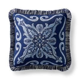Amarante Cobalt Outdoor Pillow