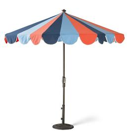 Gianna Designer Umbrella in Nautical