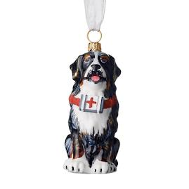 Bernese Mountain Dog with First Aid Kit Collectible