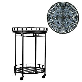 KNF Roma Round Serving Cart