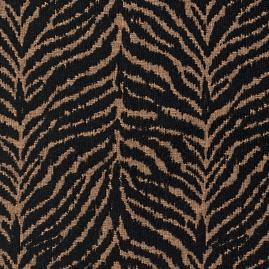 Tiger Luxe Onyx Fabric
