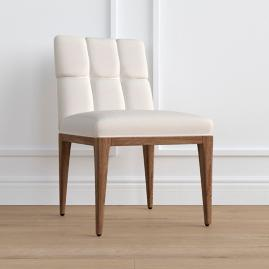 Gramercy Weathered Oak Dining Side Chair