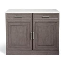 "Hunter 44"" Modular Base Cabinet with Solid Doors"