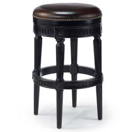 "Manchester Swivel Bar Height Backless Bar Stool (30""H"