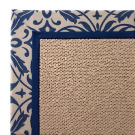 Indoor/Outdoor Parkdale Rug in Sunbrella® Softly Elegant Cobalt