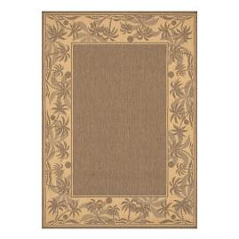Palm Indoor/Outdoor Rug in Beige & Natural