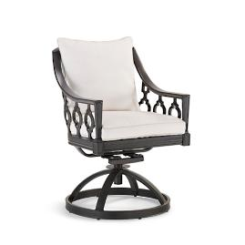 Avery Swivel Dining Arm Chair Cover