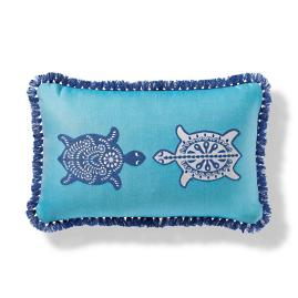 Isla Tortuga Indoor/Outdoor Pillow in Aruba