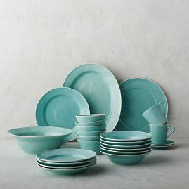 Costa Nova Astoria Dinnerware in Mint Finish