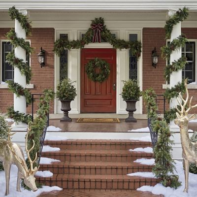Asheville Estate Cordless Greenery Collection Frontgate