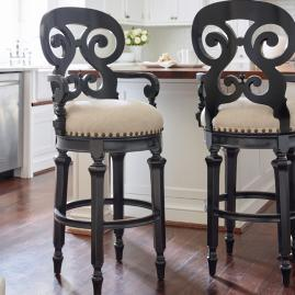 Brianna Swivel Bar and Counter Stools