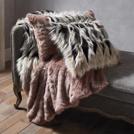 Luxury Faux Fur Collection in Chevron