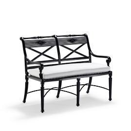 Carlisle Bench in Onyx Finish