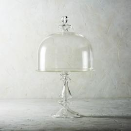 Arte Italica Cero Cake Stand with Glass Dome