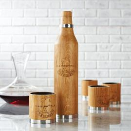 Oak Bottle Wine and Spirits Aging Vessels