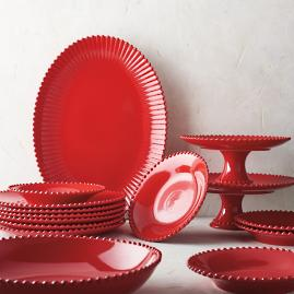 Costa Nova Pearl Dinnerware in Rubi