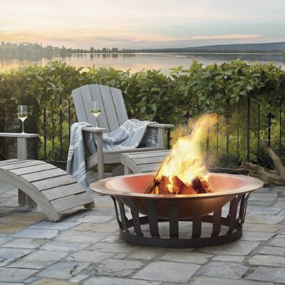 Classic Copper Fire Pit Frontgate
