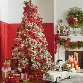 Christmas Tidings Greenery Collection