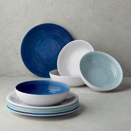 Alfresco Melamine Dinnerware Collection