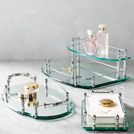 Belmont Personalized Vanity Trays