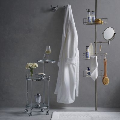 Stainless Steel Tension Mount Shower Butler